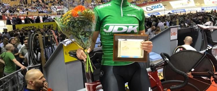 Andenplads i UCI-omnium i Gent til Trine Schmidt