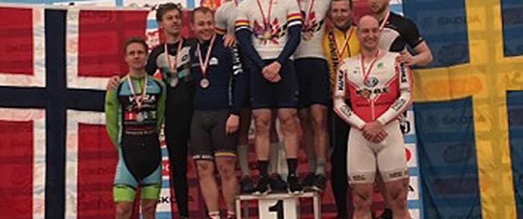 Dansk guld og sølv i NM parløb og holdsprint