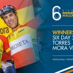 Spansk sejr i 6-dagesfinalen på Mallorca. Hester/English nr. seks