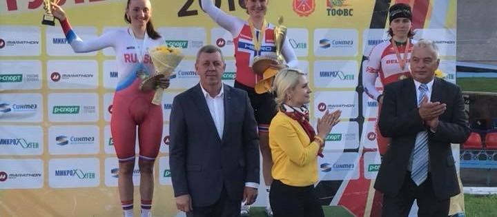 Succes for Anita Stenberg i Rusland