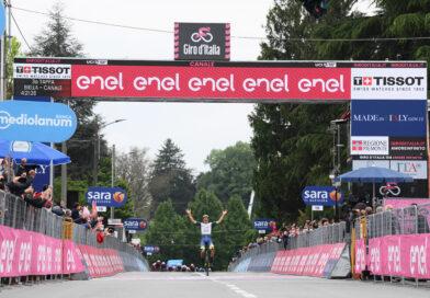 Interviews efter tredje Giro d'Italia-etape
