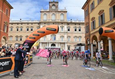 Resultater fra femte Giro d'Italia etape