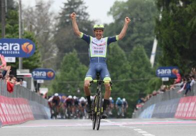 Van der Horn vinder af tredje Giro-etape