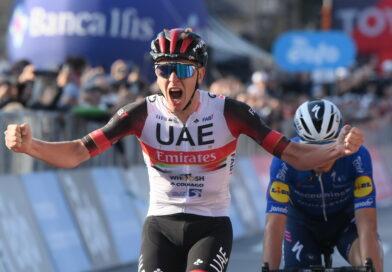 Jonas Vingegaard nr. 14 i Lombardiet Rundt nr. 115.